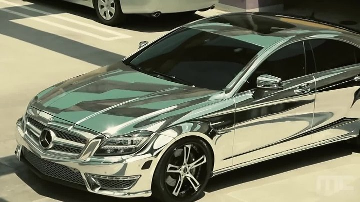 Chrome Mercedes-Benz CLS 63 by MC Customs