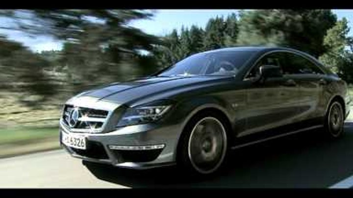 2012 Mercedes-Benz CLS 63 AMG official promo