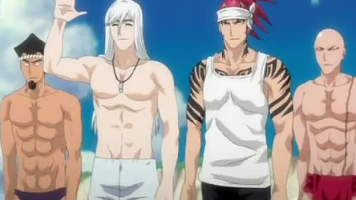 Блич на отдыхе (Bleach on vacation)