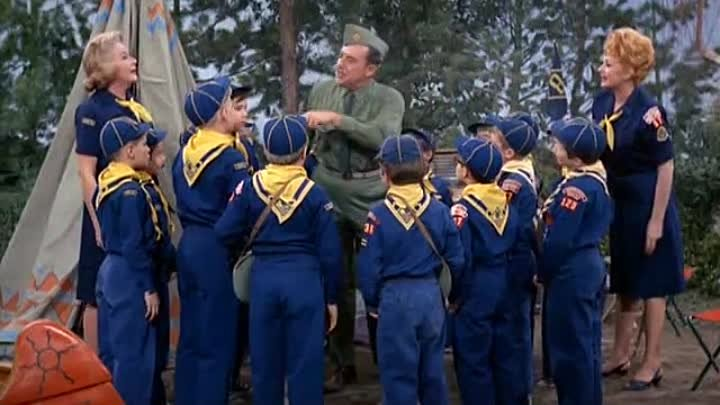 The Lucy Show Season 2 E26 Lucy and the Scout Trip