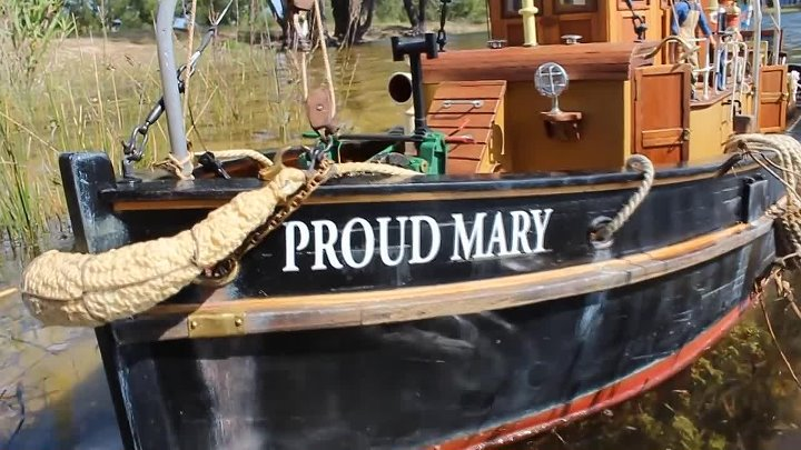 Steamboat Proud Mary Portuguese boat 1_19 Large Scale RC Replica of the Inglish