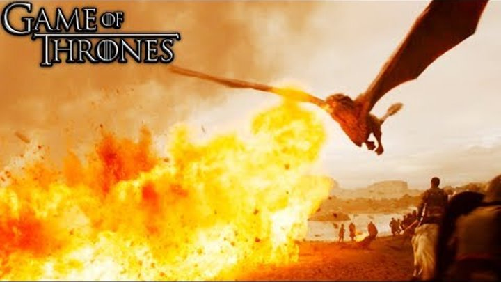 "Game Of Thrones 7x04 ""Full Fight Lannister Army Vs Drogon & Daenerys"" Season 7 Episode 4 [HD]"