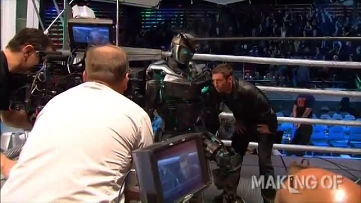 On-Set Footage, 'Real Steel