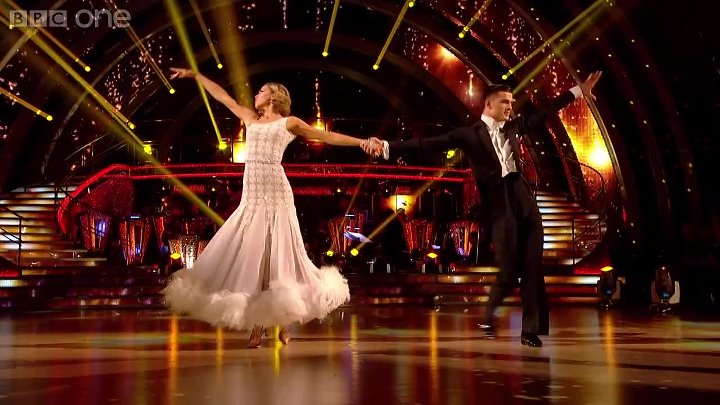 Abbey Clancy & Aljaz dance the Viennesse Waltz to 'Delilah' - Strictly Come Danc