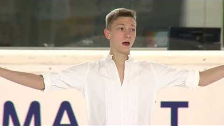 Egor MURASHOV RUS Men Short Program EGNA-NEUMARKT 2017