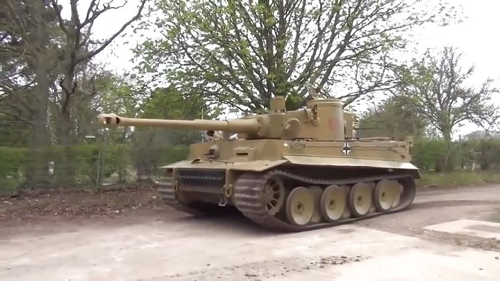 Тигр!!! Немецкий танк!!! The recovered Tiger the German tank