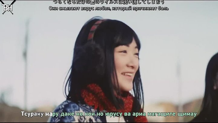[KARAOKE] AKB48 - Green_Flash (рус.саб)