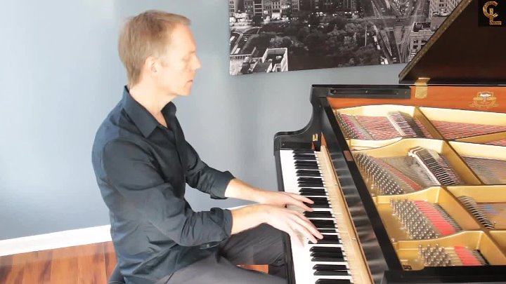Chopin - variation on Nocturne in F Minor . Op55 - 1832 ( Chad Lawson)