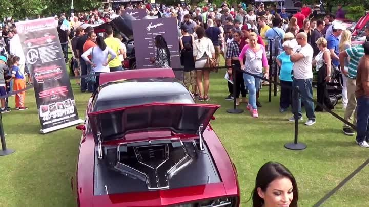 HOT CARS & HOT GIRLS 2013 Festival of Speed Orlando. Over 300 Exotic Cars & More
