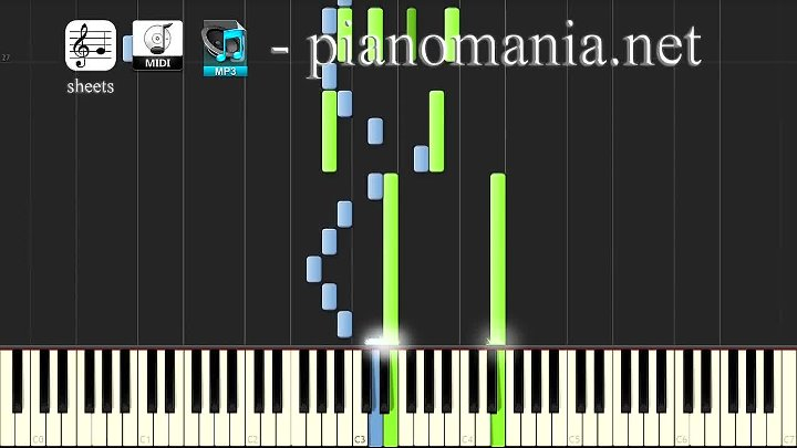 WestWorld (Piano Tutorial - Synthesia) - Dr. Ford Theme (+ sheets)