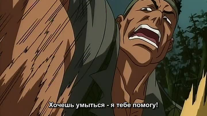 Боец Баки (Baki the Grappler) 10 серия (2001) ТВ-1 [Субтитры][AnimeDub.ru]