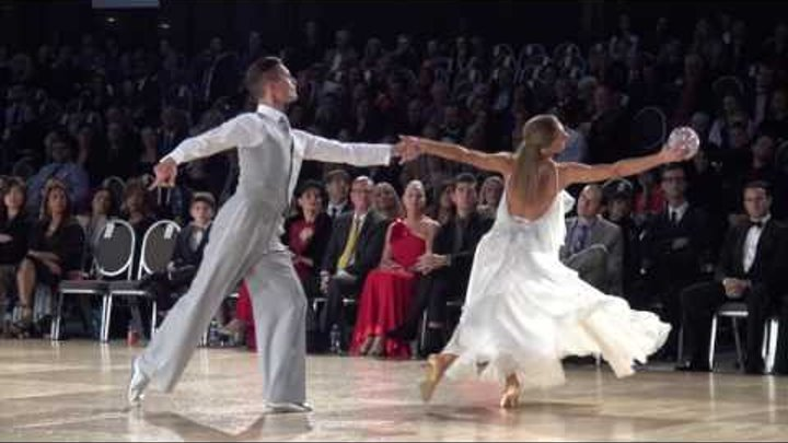 2016 Ohio Star Ball - Nick Cheremukhin & Viktorija - American Smooth Showdance - 4K