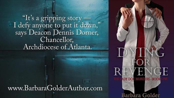 Dying For Revenge Book Trailer - Barbara Golder
