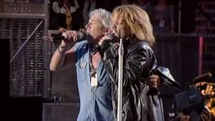 Bon Jovi & Eric Burdon - It's My Life / We Got It Get Out Of This Place (R&R Hall Of Fame 1995)