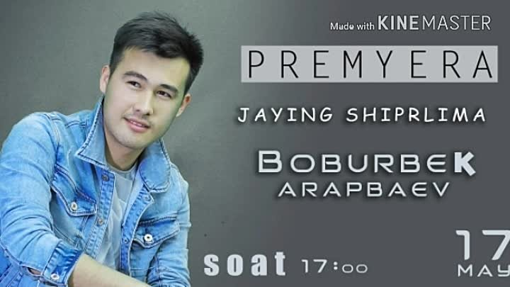 JAYING SHIPRLIMA MP3 VERSION-BOBURBEK ARAPBAEV