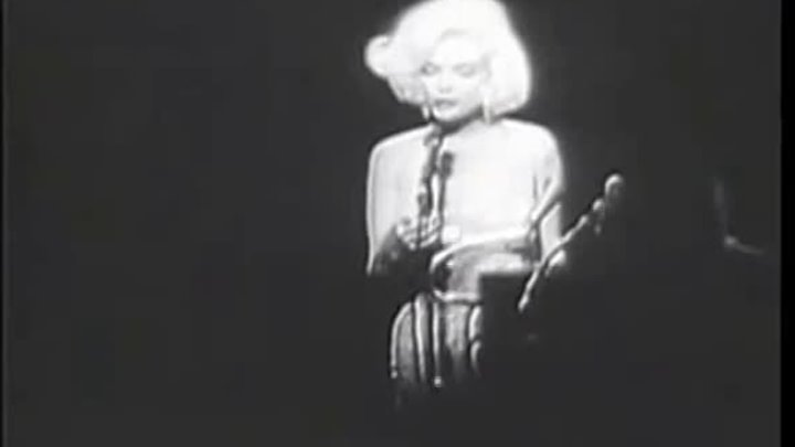 "Marilyn Monroe ""Happy Birthday Mr President"" (19 мая 1962 год)"