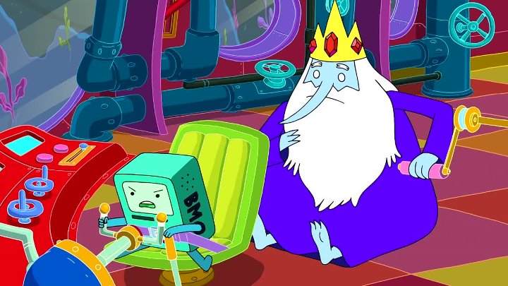 [WwW.voirfilms.ws]-Adventure Time - 7X18 - President Porpoise Is Missing! - VOSTFR