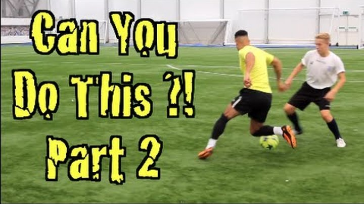 Learn FOUR Amazing Football Skills! CAN YOU DO THIS Part 2   F2 Freestylers
