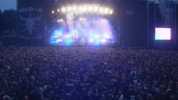 Gamma Ray-One with the World live at Wacken 2003 HQ