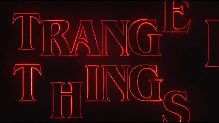 Stranger Things Season 3 - (FANMADE) Title Sequence [2018] (2K QUAD-HD) Netflix