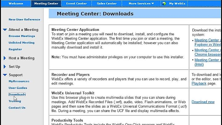 Курсы Cisco Самара. WebEx Meeting Center CMR Hybrid (WebEx Enabled TelePresence) Расписание из Outlook (WBS29.12)
