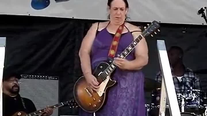Joanna Connor - Video By Sodafixer - North Atlantic Blues fest 2014 - Awesome Slide!