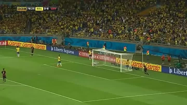 FIFA World Cup 2014 - Germany vs Brazil semifinals 7-1 All Goals