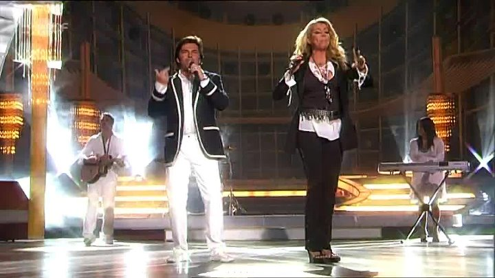 Sandra feat. Thomas Anders - The night is still young (Live ZDF 2009)