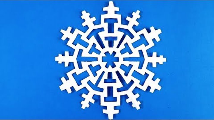 make snowflakes out of paper