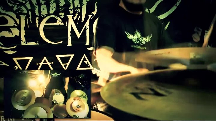 IN ELEMENT - Self Conformist Delusion - Drum playthrough