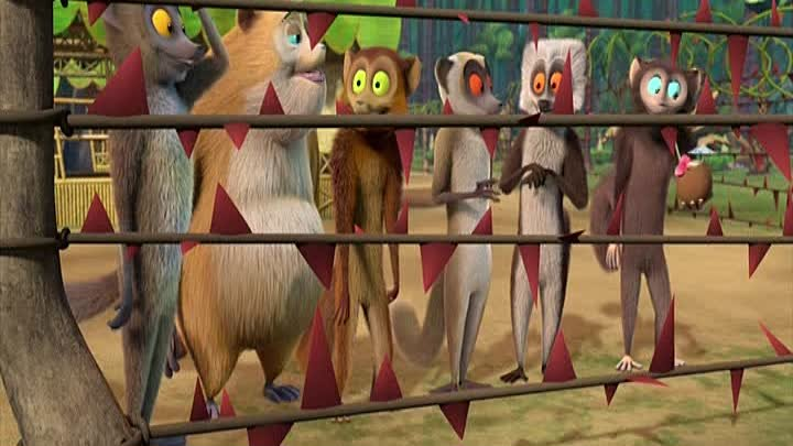 да здравствует король джулиан. All Hail King Julien Exiled - s05e11 - Out of the Foosa Pen into the Fire 11 серия