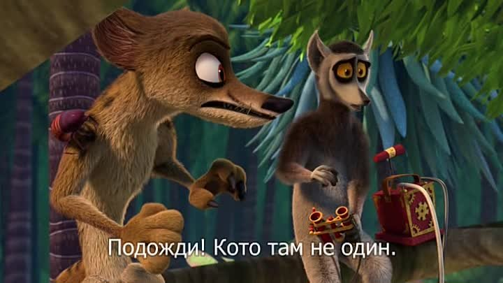 да здравствует король джулиан. All Hail King Julien Exiled - s05e11 - Out of the Foosa Pen into the Fire_11 серия