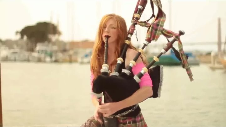 New - Shipping Up To Boston Enter Sandman - Bagpipe Cover (Goddesses of Bagpipe)