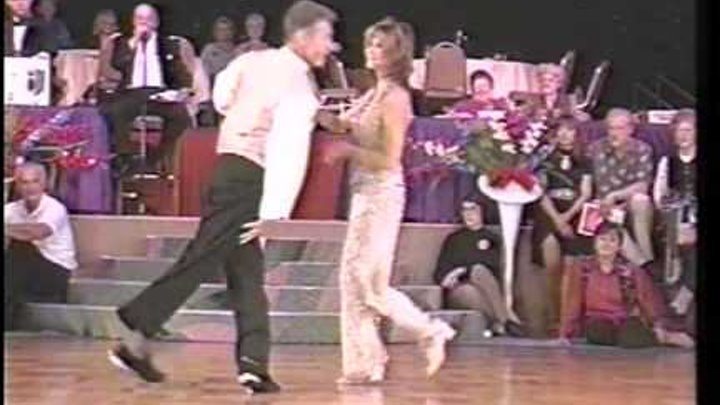 1996 US Open Classic Champions - Charlie Womble and Jackie McGee - Shag