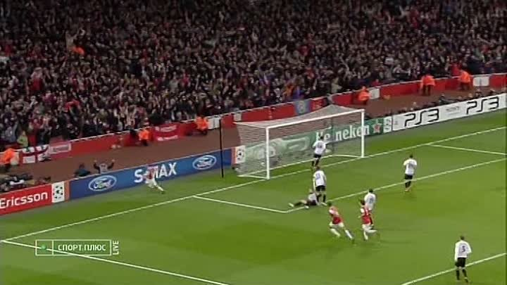 Arsenal - Shakhtar 4-0 Wilshere (UEFA Champions League 2010-11, Gr.stage)