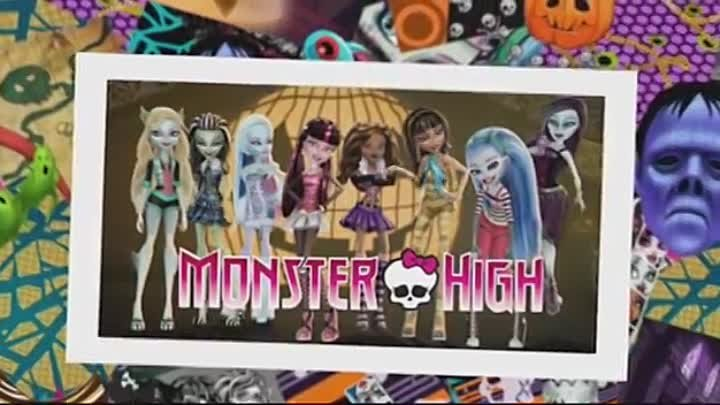 Monster High Theme - Fright Song New Video Clip