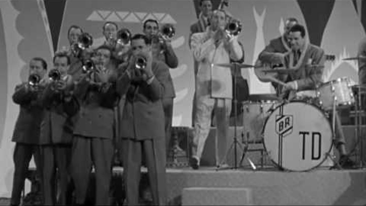 Film Clip: Hawaiian War Chant - Tommy Dorsey and his Orchestra, 1942 - M-G-M
