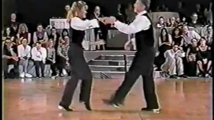 Charlie Womble & Jackie McGee - 1995 US Open Classic Finals - WCS