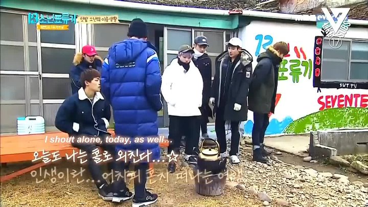 [Engsub] 160307 Seventeen One Fine Day - 13 Castaway Boys Ep.4 by Like17Subs