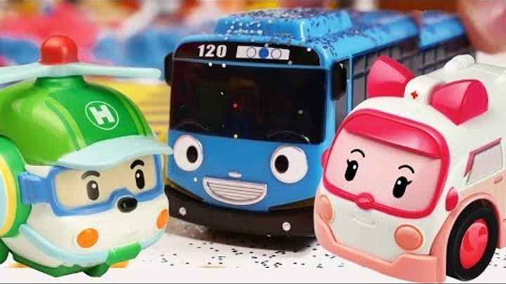 Robocar Poli toys. Cars for kids 🚗 truck toys 🚚 Tayo toys & toy train. Робокар Поли все серии.