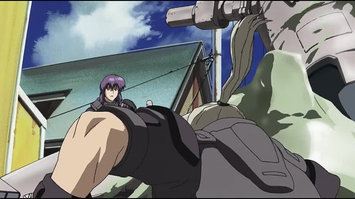 (AniSekai) Ghost in the Shell Stand Alone Complex - 02 [720p Blu-Ray]