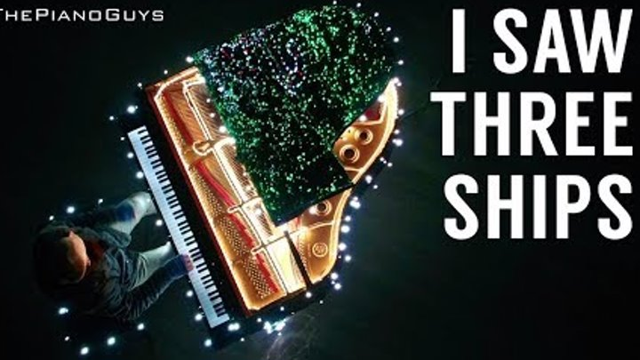 Amazing Piano Controls 500,000 Christmas House Lights! I Saw Three Ships - The Piano Guys