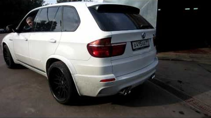 BMW X5 M TTR PP-Performance Stage 3. RPi Exhaust sound