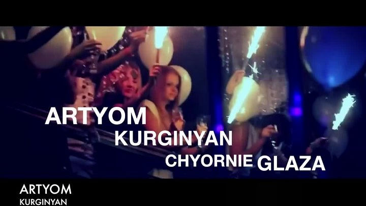 Artyom Kurginyan - Chyornie Glaza 【Music Video New 2015】 © BLACK ♫ MUSIC