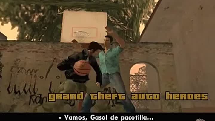 GTA SAN ANDREAS - GRAND THEFT AUTO HEROES INTRO (PLAY BASQUET)