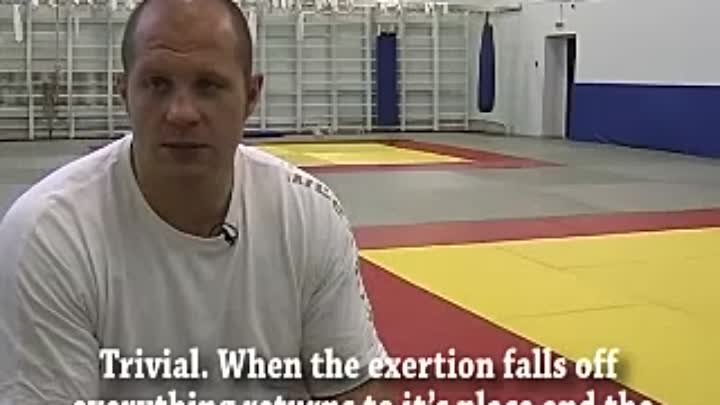 In The Gym Fedor Prepares for Choi. 2007