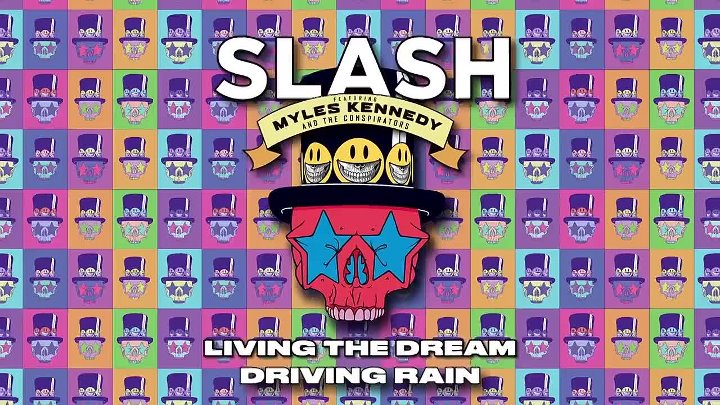 Slash ft. Myles Kennedy & The Conspirators - Driving Rain Full Song Static Video