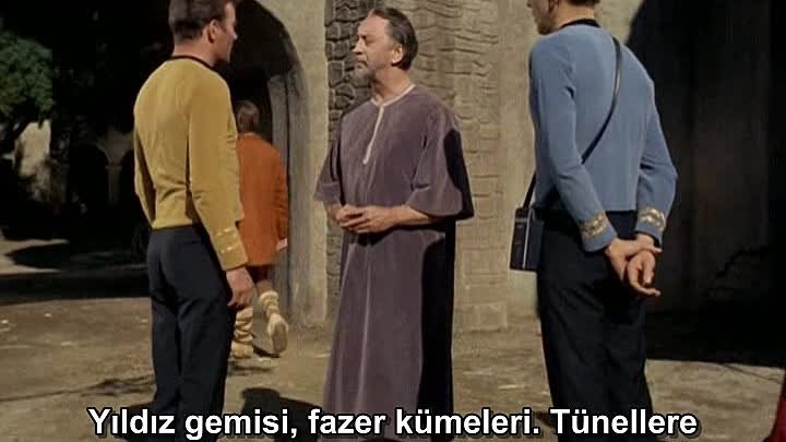 Uzay Yolu 1.Sezon 25.Bölüm Star Trek 1966 Türkçe Altyazılı The Devil in the Dark_arc