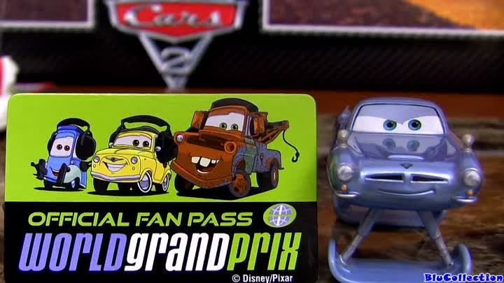 Hydrofoil Finn McMissile #6 Diecast CARS 2 Disney Pixar water toy review by Blucollection
