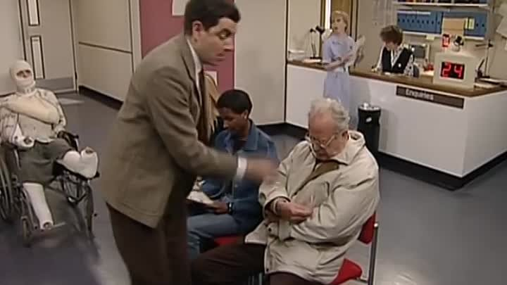 At the Hospital Funny Clip ⋆ Mr. Bean Official ⋆ Русский ☆ YouTube ︸☀︸